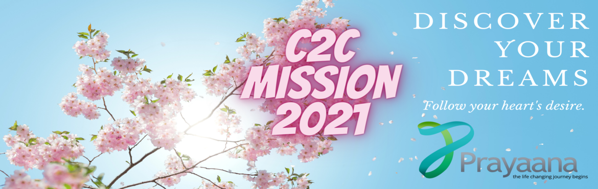 Book Online Tickets for C2C Mentee Onboarding Registration 2021 , . Congratulations! You have got selected for admission to enroll as a Mentee for the C2C Mission 2021. By now you must be aware that the program involves strenuous and tough mentoring until you accomplish your goals. It also involves coaching your care