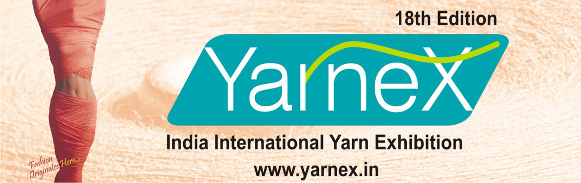 Book Online Tickets for Yarnex - Delhi 2021  , New Delhi. The 2021 edition ofYARNEX-Delhiwill provide an enhanced all round sourcing experience with a larger number of exhibitors showcasing a wider range of innovative products spread over 12,000 square meters of exhibition space. YARNEXwil