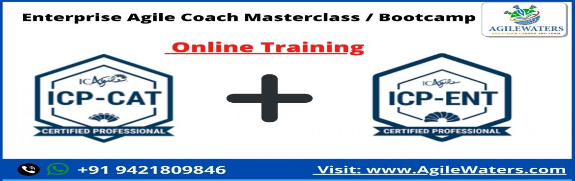 Book Online Tickets for  Enterprise Agile Coach Masterclass / Bo, . By attending Masterclass you will learn and practice the advanced skills needed to coach at the enterprise level within an organizational . Who is an Enterprise Agile Coach & What it takes to be one? Enterprise Agility is a response to comp