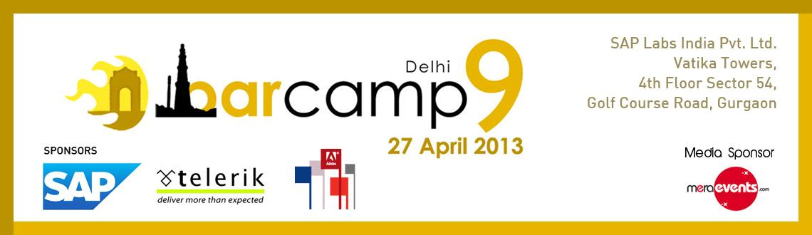 Book Online Tickets for Barcamp Delhi 9, Gurugram. 