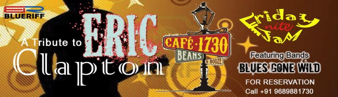 A Tribute to Eric Clapton @ Café 1730 Beans & Booze on 12th April