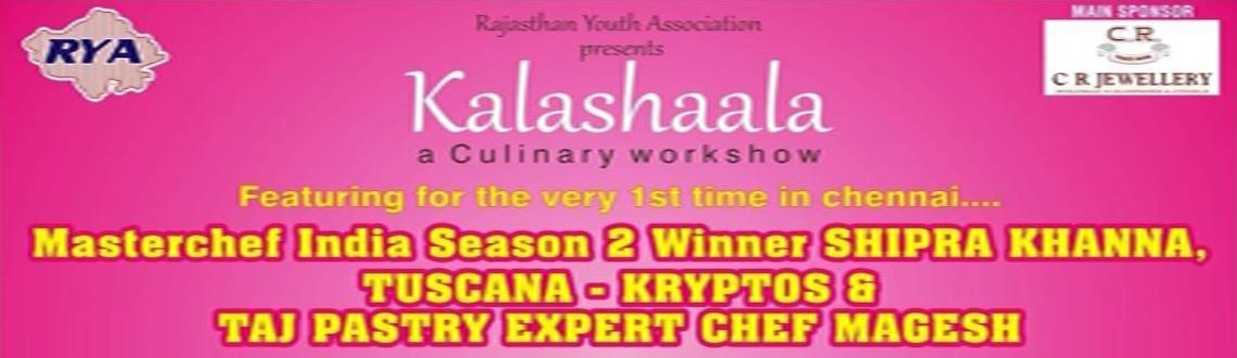 Book Online Tickets for RYA Kalashaala, Chennai. RYA presents Chennai\\\'s Biggest & Best Culinary Workshop spread across 4 days, featuring the very best...Master Chef Season 2 Winner - bringing her signature dishes SHIPRA KHANNA, Italian & Greek by TUSCANA & Kryptos & mouth waterin