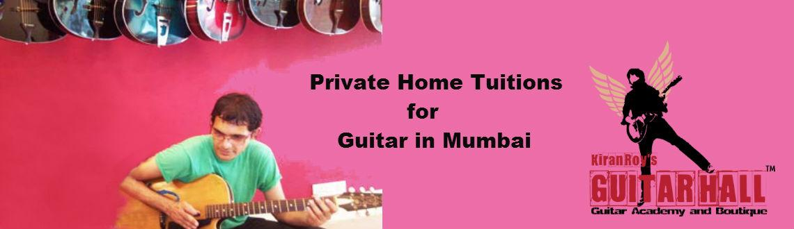 Private Home Tuitions For Guitar