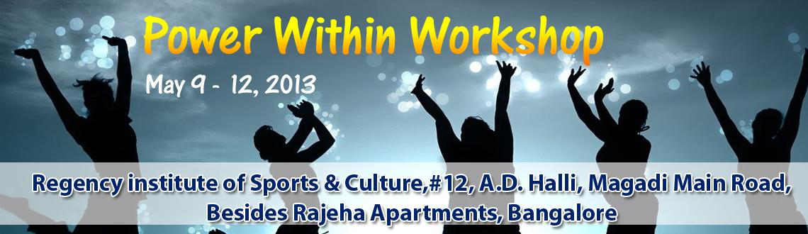 Power Within Workshop  - Vijayanagar 3