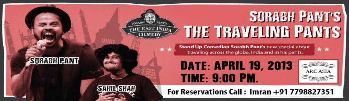 Book Online Tickets for The Traveling Pants Comedy Show @ Arc As, Pune.  