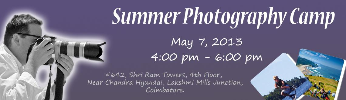 Summer Photography Camp