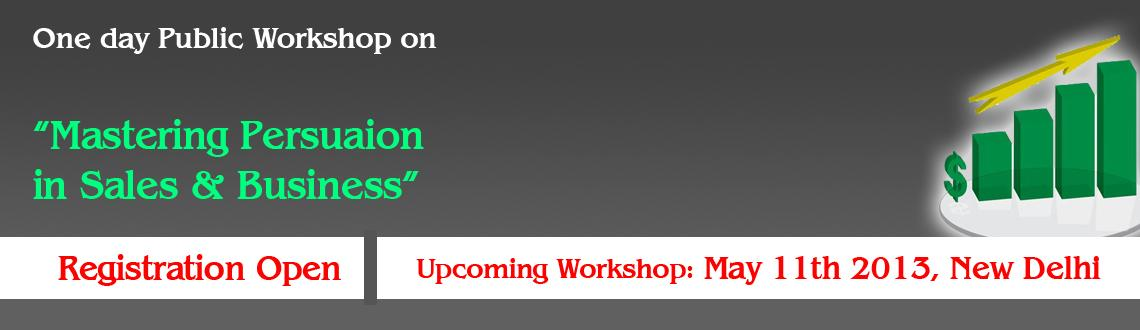 Book Online Tickets for One Day Public Workshop on Mastering Per, NewDelhi. One Day Workshop on \\\