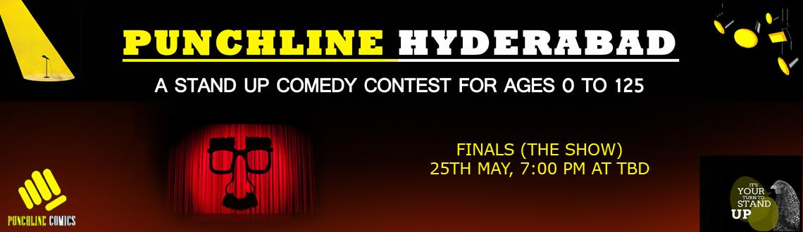Punchline Hyderabad - A Stand Up Comedy Contest - Finals