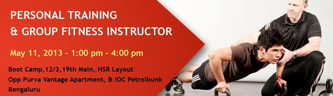 PERSONAL TRAINING & GROUP FITNESS INSTRUCTOR IN BANGALORE ...
