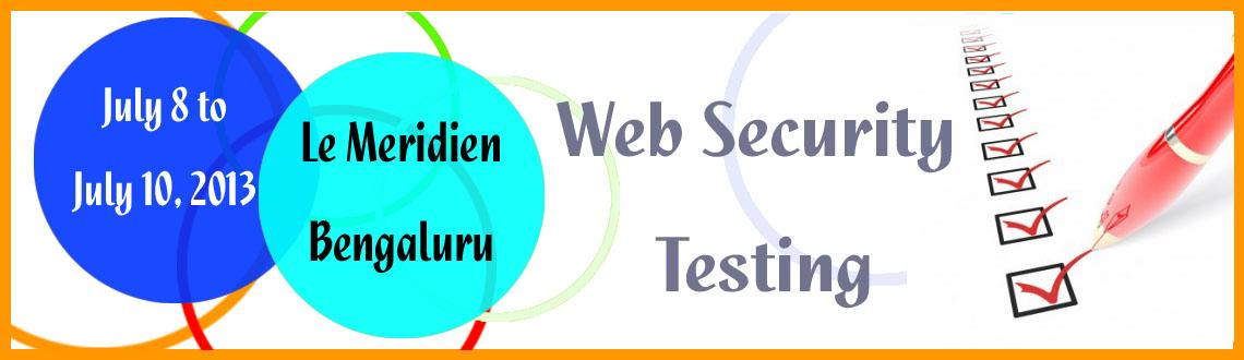 Web Security Testing