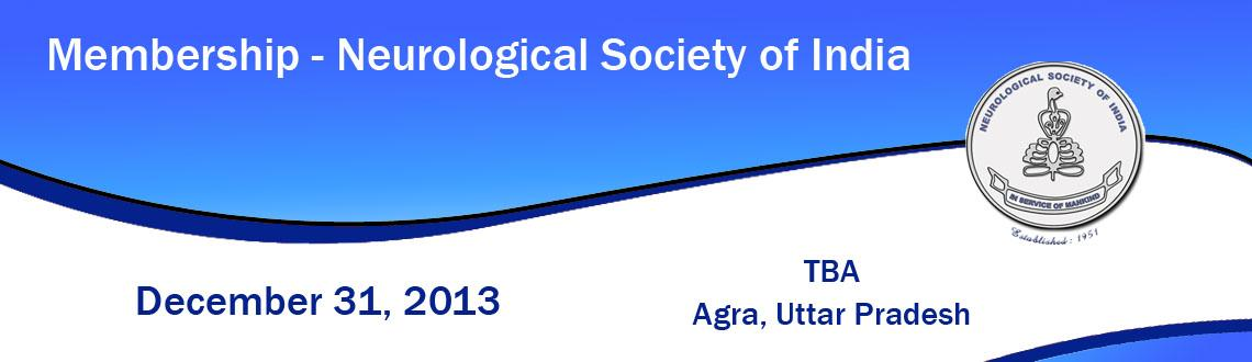 Membership - Neurological Society of India