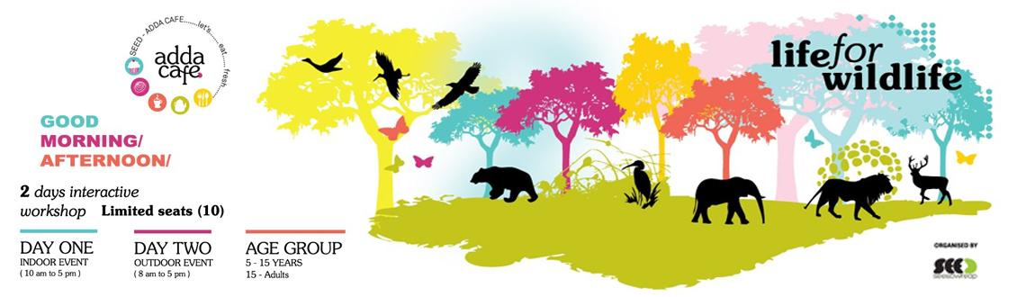 Book Online Tickets for Life for Wildlife, Bengaluru.     Hi, DO YOU REALIZE ? Wildlife is a decreasing asset in today's life and culture. It is therefore our duty toeducate ourselves as to how important wildlife is and how we need to protect the few that we are left with!So, let's unit