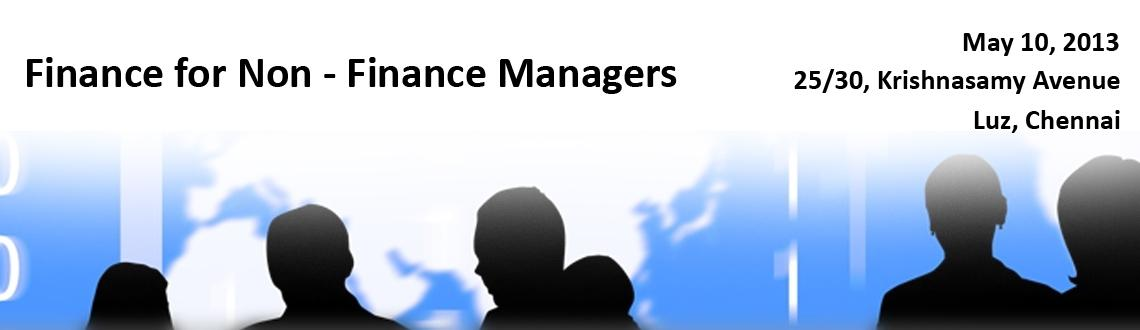 Finance for Non - Finance Managers