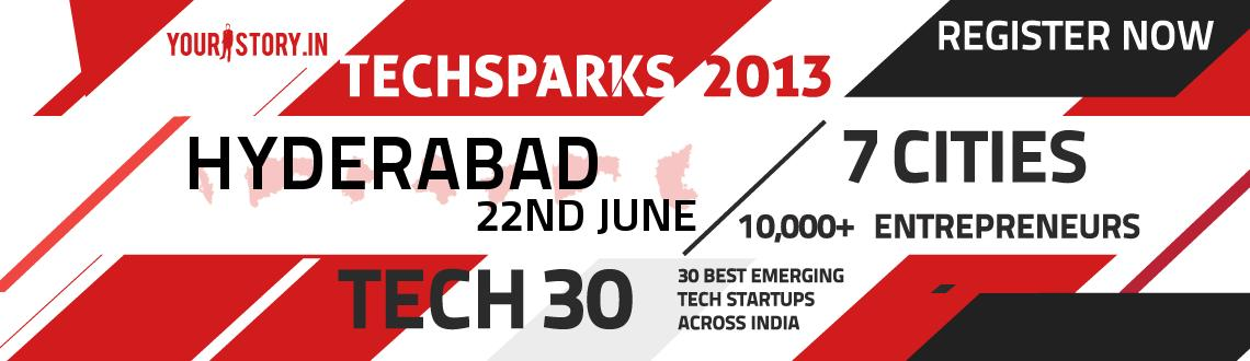 Book Online Tickets for TechSparks Hyderabad 2013 - Regional Sta, Hyderabad. Kindly use the Promo Code to get 30% discount \\\