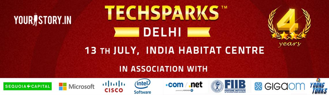 YourStory - 4th edition of TechSparks Delhi 2013