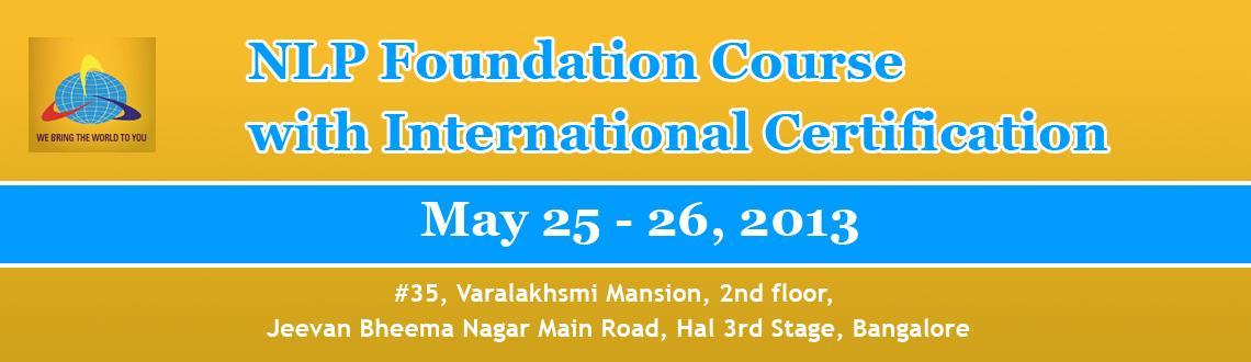 NLP Foundation Course with International Certification in Bangalore