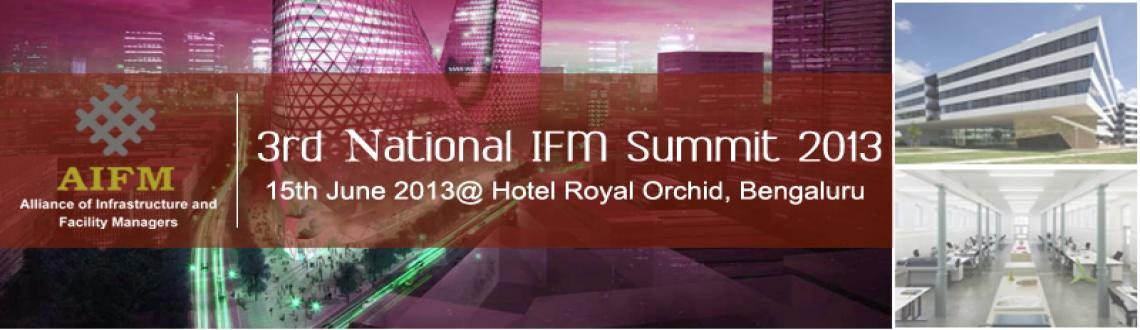 Book Online Tickets for 3rd National IFM Summit - Bengaluru 15th, Bengaluru. We need to move on. We need to take FM theory and practice to the next level. We need to stop thinking about service delivery in the old 'tried & tested' ways and start thinking in terms of true alignment with business objectives and