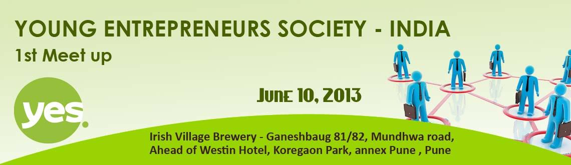 YOUNG ENTREPRENEURS SOCIETY - INDIA 1st Meet up