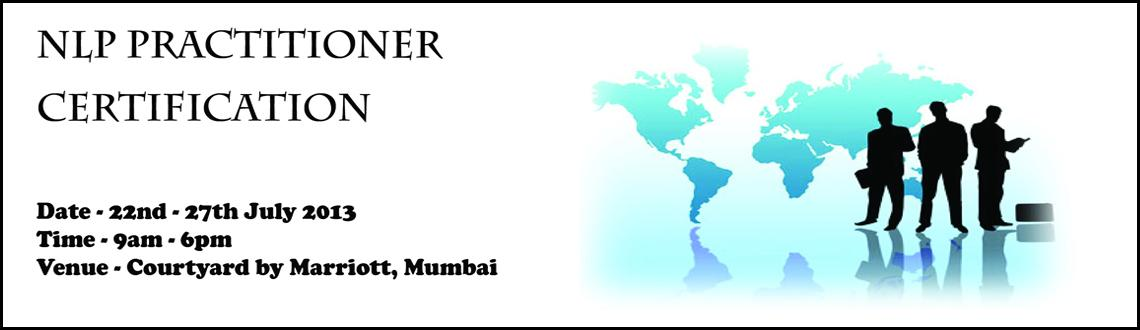 Book Online Tickets for Premier NLP Training & Certification - u, Mumbai.  NLP Training in Mumbai is now available to all as Certified Trainers of NLP Antano Solar John and Harini Ramachandran (also known as famous Playback singer Megha) who extensive experience in NLP Applications across wide fields, teach NLP spec