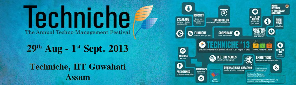 Techniche 2013 at IIT Guwahati