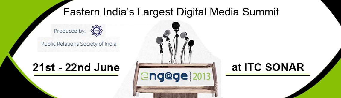 Book Online Tickets for Engage Digital Summit 2013, Kolkata. In the last few years a dramatic shift has taken place very quietly. It  is so startling that it has disrupted several business models, created  chaos in quite a few industries and transformed our old ways of doing  things. It has been ushered by two