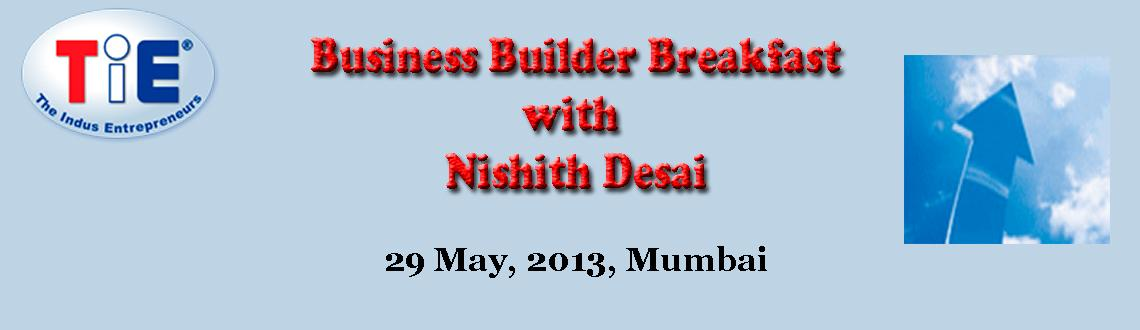 Business Builder Breakfast with Nishith Desai