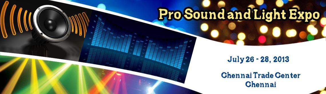 Book Online Tickets for Pro Sound and Light Expo, Chennai. Organized by Buysell Interactions Pvt. Ltd. at Chennai Trade &  Convention Centre, Chennai, India, the Professional Sound & Light  Expo (Pro Sound & Light Expo) is scheduled for 3 days and is a high  blitz event for professional sound, li