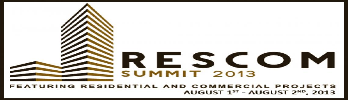 Book Online Tickets for Rescom Summit featuring Residential and , Bengaluru. RESCOM is India\\\'s only event which brings together Developers, Architects, Builders, Brand Owners and Solution Providers for face-to-face interaction, live product demos, vital knowledge discussions and powerful connections.