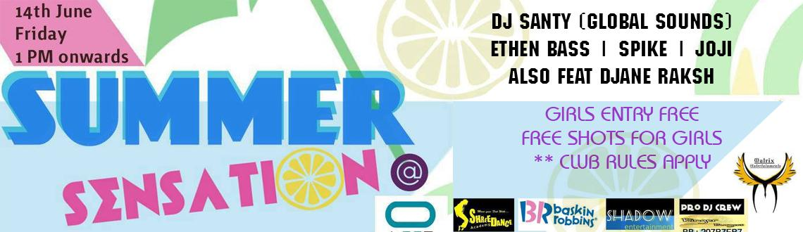 Summer Sensation @ Club Loop on 14th June