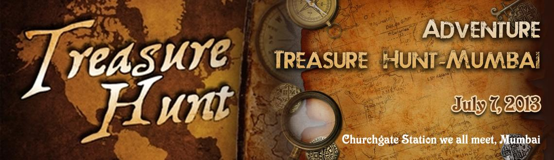 Adventure - Mumbai Treasure Hunt Events on 7th July (Exciting way to enjoy).