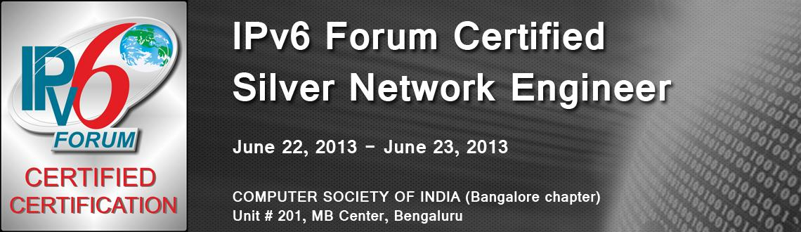 IPv6 Forum Certified Silver Network Engineer