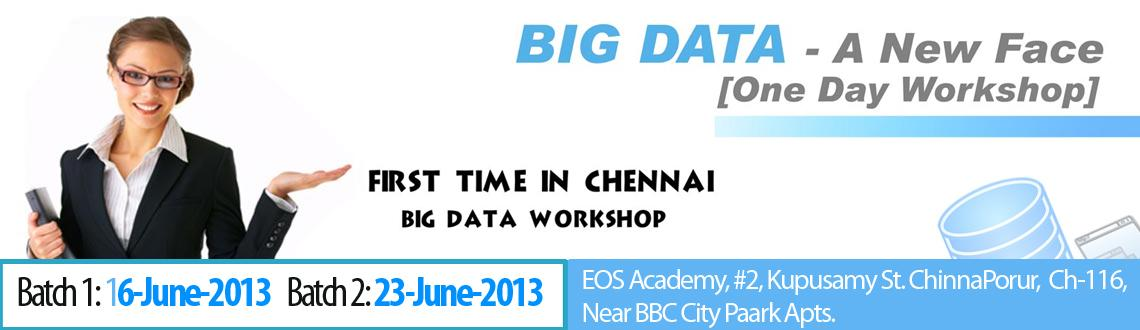 Big Data - A New Face workshop
