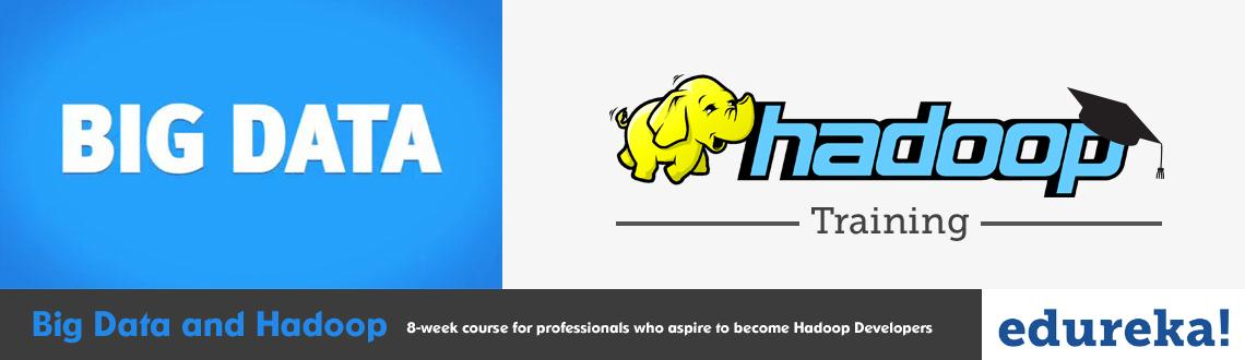 Book Online Tickets for Big Data and Hadoop Training, . Big Data and Hadoop training course is designed to provide knowledge and skills to become a successful Hadoop Developer. In-depth knowledge of concepts such as Hadoop Distributed File System, Hadoop Cluster, Map-Reduce, Hbase Zookeeper etc.