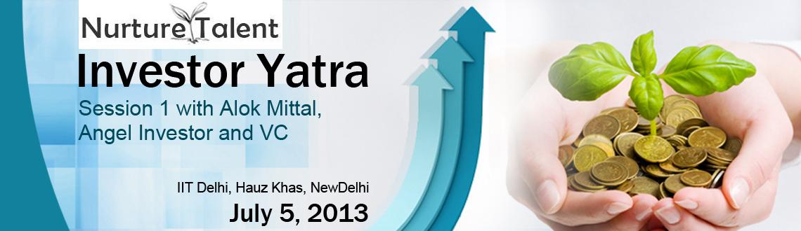 Book Online Tickets for Investor Yatra by Nurture Talent Academy, Gurugram. Early bird discount of 250 Rs available till 23rd June, use discount code \\'ntaearly\\'
