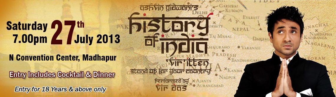 History of India: VIRitten