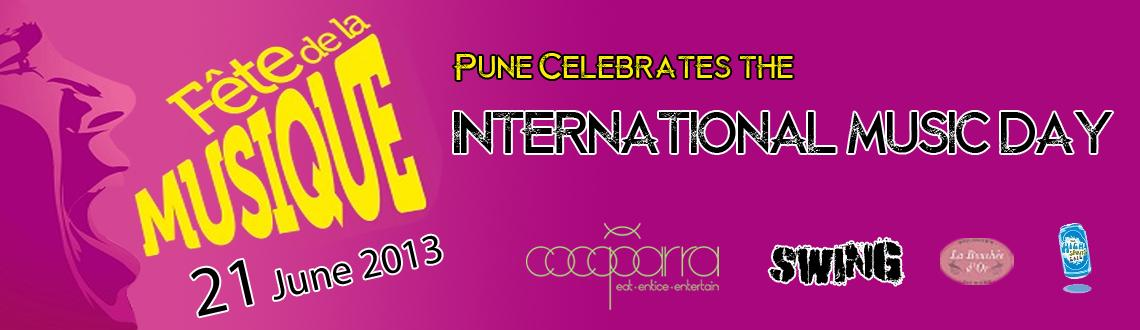 Book Online Tickets for Â« La Fête de la Musique » Inter, Pune. « La Fête de la Musique »International Music Day – Pune turns to Paris & BerlinPresented by Alliance française Pune, Max Mueller Bhavan Pune and Pune Municipal Corporation, 