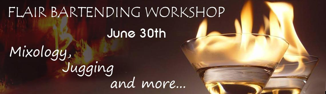 FLAIR BARTENDING WORKSHOP BY CULTURE TRAILS