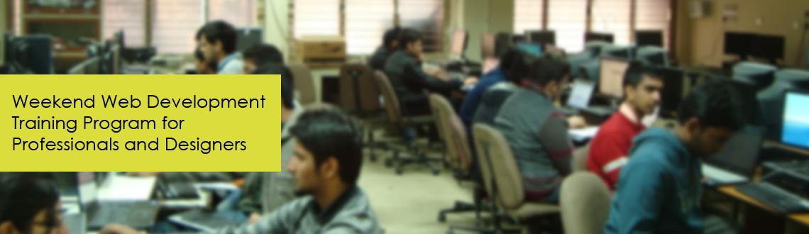 Weekend Web Development Training Program for Professionals and Designers