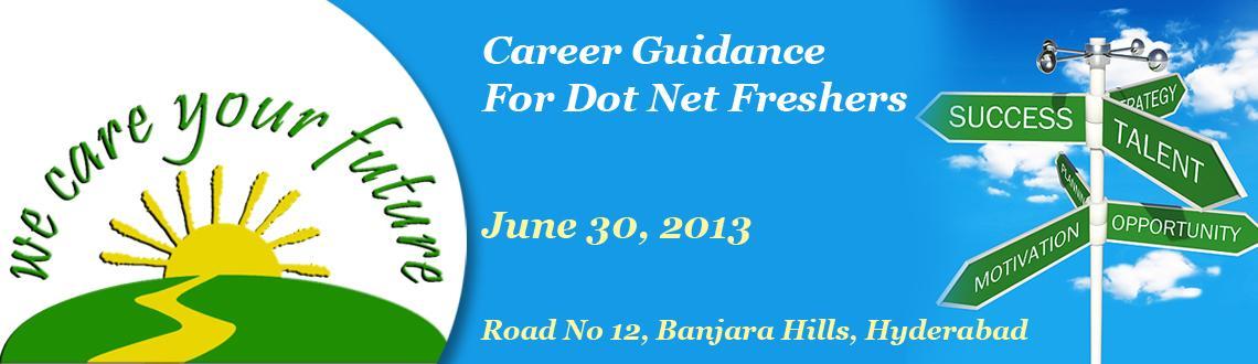 Career Guidance For Dot Net Freshers