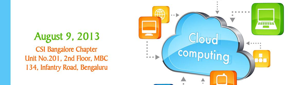 Book Online Tickets for Hands-On Cloud Computing Workshop, Bengaluru. WORKSHOP OUTLINE: