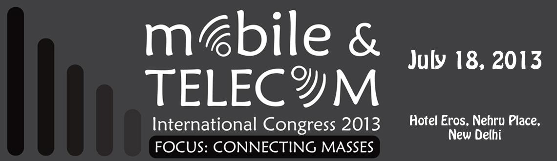 Book Online Tickets for Mobile & Telecom International Conferenc, NewDelhi. mBillionth is recognizing and honoring innovators and innovations happening in the world of Mobile & Telecom across South Asian countries through \\\