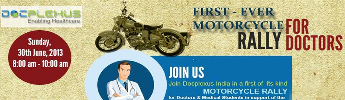 National Doctor\'s Day Commemoration Motorcycle Rally on 30th June