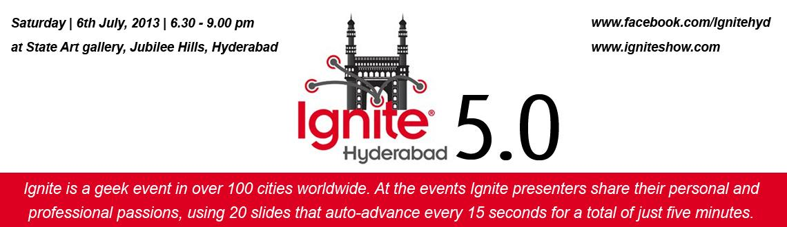 Ignite Hyderabad Vol. #5