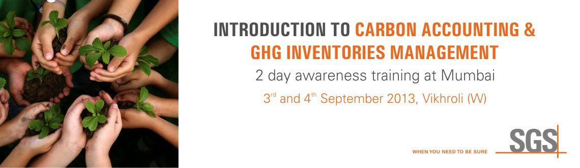 2 day Awareness Training on 'Introduction of Carbon Accounting & GHG Inventories Management' at Mumbai