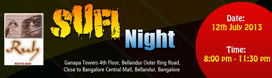 Sufi Night at Ruh (Every Fridays)
