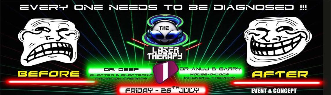 LASER THERAPY PARTY @ 1 LOUNGE on 26th July