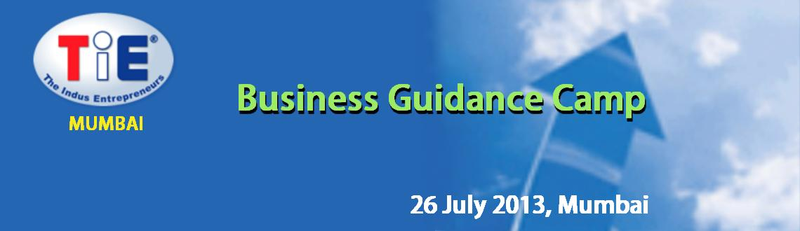 Business Guidance Camp (26 July, Mumbai)