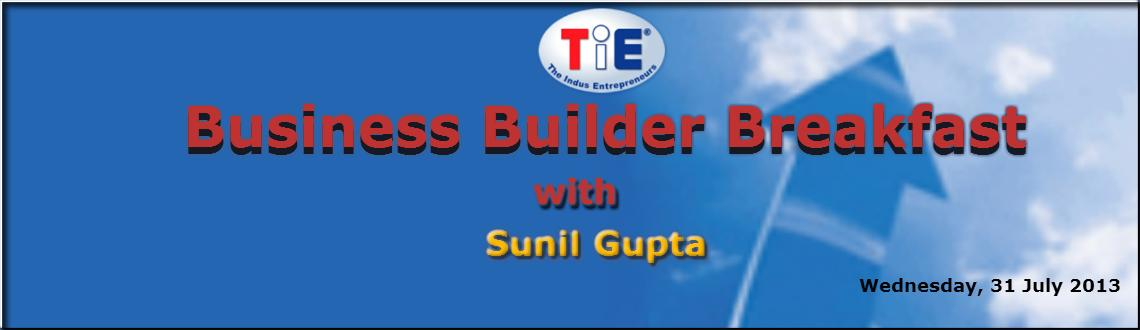 Book Online Tickets for Business Builder Breakfast with Sunil Gu, Mumbai.  