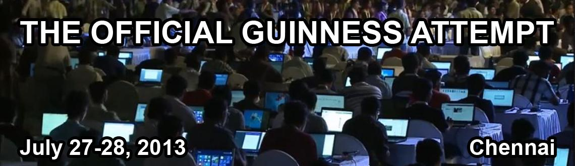 Want to be a Guinness Record holder? come to E-Hack