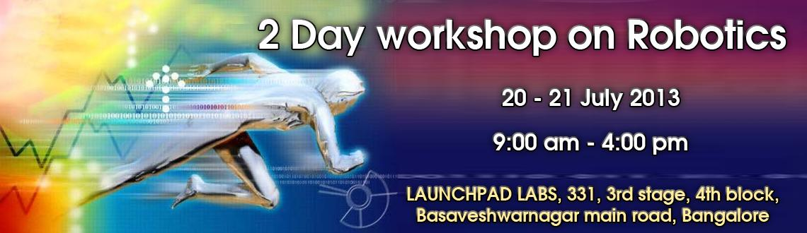 2 Day workshop on Robotics